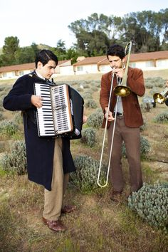 I want.  You know Joe used to play the trombone and I used to play the accordion, right??? Too perfect
