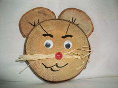 rondelles de bois ,bricolages ,activités ,occuper les enfants Plus