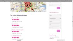 top motoring businesses & map Croydon, It Cast, Map, Website, Cards, Maps