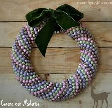 coronas decorativas a crochet - Google Search