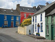 Cork, Ireland  Google Image Result for http://www.dreamstime.com/village-street-in-eyeries-west-cork-ireland-thumb16260361.jpg