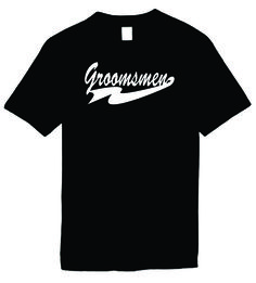 Signature Depot - Groomsmen Funny T-Shirts Humorous Novelty Tees, $11.95 (http://www.signaturedepot.net/groomsmen-funny-t-shirts-humorous-novelty-tees/)