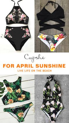 Live life on the beach~ Escape to your next destination, whether it's poolside or beach. Flower printing gives you nice and pretty look and best design from top to bottom make it easy for your body. Show off now!