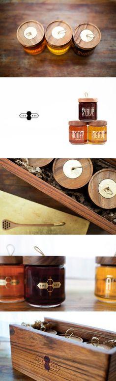 Wooden Cap Bottles by Sue Bee