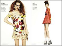 """""""And You Thought Llace Was Just Pretty""""  A modelo Esme Wissels, clicada por David Oldham para a Glamour UK - Maio 2012"""