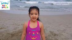 Family Fun Trip To Beach Pyramid Treasure Discovery