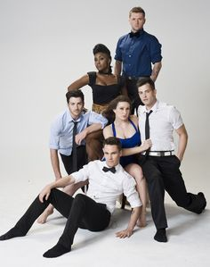 Shaping Sound's Travis Wall, Nick Lazzarini, Teddy Forance, Kyle Robinson, Jaimie Goodwin and Taja Riley, Dance Spirit Cover Stars May/June '12