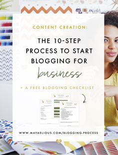 #YouShouldStartBlogging, but first... Learn this 9 step process to quality blogging.
