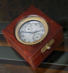 Museale-KIROW-15-Sec-ESCAPEMENT-CHRONOMETER-MARINE-8-DAYS-RESERVE-INDICATION