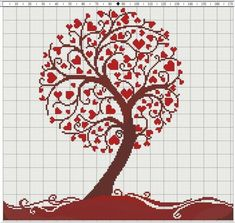 Thrilling Designing Your Own Cross Stitch Embroidery Patterns Ideas. Exhilarating Designing Your Own Cross Stitch Embroidery Patterns Ideas. Cross Stitch Tree, Cross Stitch Heart, Beaded Cross Stitch, Diy Embroidery, Cross Stitch Embroidery, Embroidery Patterns, Wedding Cross Stitch Patterns, Funny Cross Stitch Patterns, Cross Stitching