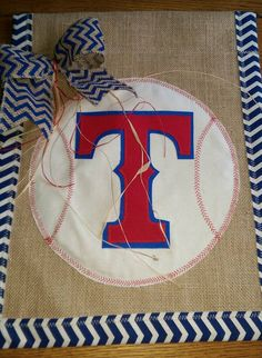 Burlap Garden Flag, Texas Rangers, Sports, Baseball, Decor, Flag, Spring Flag, Garden Flag, Baseball Flag, MLB baseball by SmallTownHatsandMore on Etsy https://www.etsy.com/listing/288509493/burlap-garden-flag-texas-rangers-sports