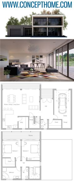 House Plan, Home Plan, Floor Plans plans House Plan New House Plans, Dream House Plans, Modern House Plans, Small House Plans, House Floor Plans, Modular Home Plans, Container House Plans, House Blueprints, Sims House