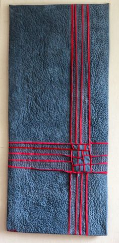 Play of Lines XXXVII by Uta Lenk (Germany) as seen at International Threads