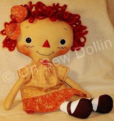 Doll Making Tutorial, How to Make a Rag Doll