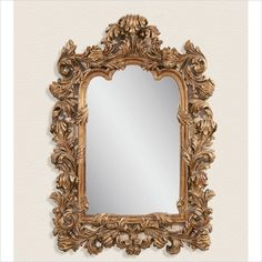 Bassett Mirror Marquis Wall Mirror in Antique Gold Leaf - M3189EC - Lowest price online on all Bassett Mirror Marquis Wall Mirror in Antique Gold Leaf - M3189EC