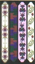 Slender Delica Bracelets by Lenni Cramer