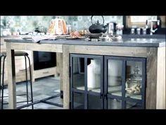 Copenhague kitchen Maisons du Monde - YouTube