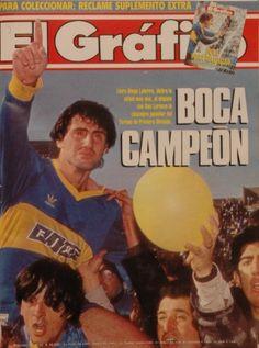1991 Diego Latorre, Boca Campeon
