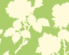 Heather Bailey's Garden District Canvas - Green