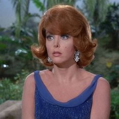 """Tina Louise as Ginger Grant on """"Gilligan's Island"""" All about Eva episode. Fancy Hairstyles, Hairstyles For Round Faces, Everyday Hairstyles, Hairstyles For School, Ponytail Hairstyles, Hairstyles With Bangs, Weave Hairstyles, Straight Hairstyles, Ladies Hairstyles"""
