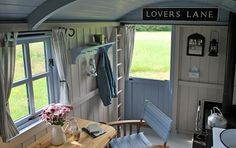 Peek Inside This Cheerful English Shepherd's Hut  - CountryLiving.com