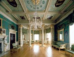 The Painted Room, Spencer House © Spencer House Limited. Bruce White Photographer   Designed and painted in 'the antique manner' by James 'Athenian' Stuart, the Painted Room at Spencer House is one of the most famous eighteenth-century interiors in England. It is also the earliest complete neo-classical ensemble in Europe as, begun c.1759, it was largely completed by November 1765.
