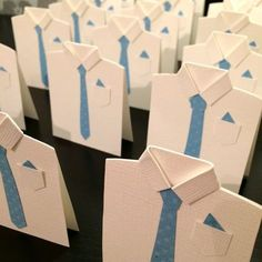 DIY: Bordkort - Skjorte til Konfirmasjon Diy Father's Day Cards, Christmas Napkin Folding, Confirmation Cards, Kids Workshop, Jw Gifts, Diy Christmas Decorations Easy, Father's Day Diy, Beautiful Handmade Cards, Fathers Day Cards