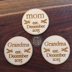 Baby+Shower+Honor+Badge++++Mom+Grandma+by+TheVirginiaArtisans