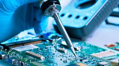 Research and development || Image Source: http://images.wisegeek.com/soldering-a-motherboard.jpg