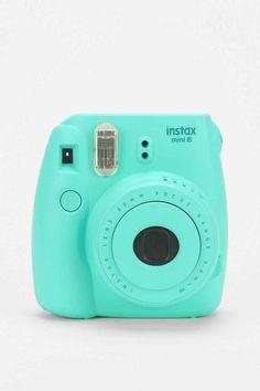 Fujifilm Instax Mini 8 Camera in Aqua - Urban Outfitters