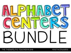 What is included in this download? Alphabet Mats Handwriting Sound Match Letter Hunt Magnetic Letters Letter SortingWhat can I do with this pack? Laminate and set up cards on metal rings for centers or independent work Put pages in sheet protectors and keep in a binder - use dry erase markers and counting chips Laminate and keep in a bin for fast finishers Morning workFind more fun resources on my blog!