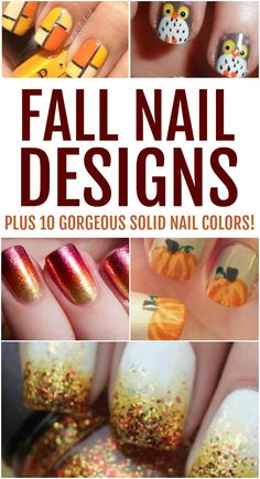 Discover all the trendiest fall nail designs to wear this season. The changing leaves have nothing on these gorgeous ideas and colors. Source by - Cute Nail Art Designs, Pink Nail Designs, Fall Nail Designs, Nude Nails, Acrylic Nails, Gel Nails, Manicures, Nail Polish Trends, Fall Nail Colors