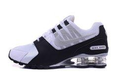 95ac5e75162 Mens Nike Shox Avenue NZ White Black Silver Footwear Mens Nike Shox