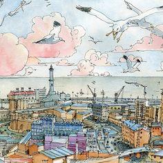 Genova e la Lanterna