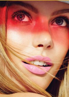 Exclusive beauty shoot with Frida Gustavsson - Elle Canada. Beauty Direction @Vanessa Craft.
