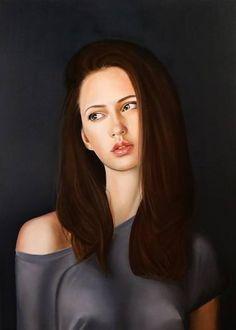 """Saatchi Art Artist Gennaro Santaniello; Painting, """"Mater Dolorosa"""" #art"""