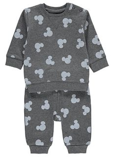 Disney Mickey Mouse Sweatshirt and Joggers Set