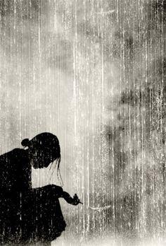 Amo la pioggia perché posso piangere con lei