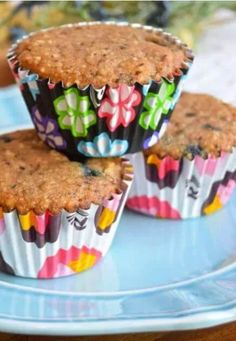 Easy Paleo Blueberry Muffins Recipe Paleo Blueberry Muffins, Blue Berry Muffins, Paleo Muffin Recipes, Healthy Recipes, Granola, Breakfast, Easy, Food, Blueberry Crumb Muffins