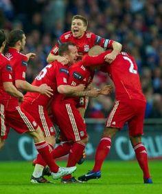Skrtel Scores Liverpool's First Goal