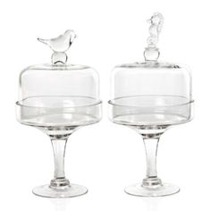 Z Gallerie - Bird & Seahorse Cake Stands - for my beach house