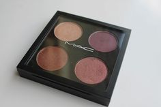 My MAC Eyeshadow Quad: All That Glitters, Nocturnelle, Antiqued and Star Violet  www.rebeccalouise-beauty.blogspot.co.uk