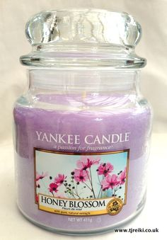 Yankee Candle Honey Blossom Housewarmer Jar