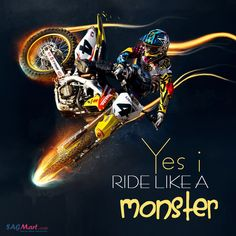 Yes I Ride.. Bike Quotes, My Ride, Movie Posters, Movies, Films, Film Poster, Cinema, Movie, Film