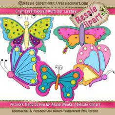 Butterflies Clipart 2