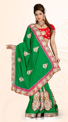Latest Embroidery Designer Lace Work #Saree #OnlineShopping for #latest #designersarees #weddingsarees #partywearsarees and #Indiansarees on #variationfashion