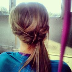 Neat hair style for soccer and other sports
