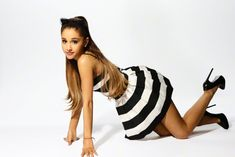 Ariana Grande in the photoshoot for #22 Saturday Night Live - 2014