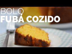 (1) O MAIS GOSTOSO BOLO DE FUBÁ COZIDO - receita fácil - BELLARIA CHOCOLATIER - YouTube