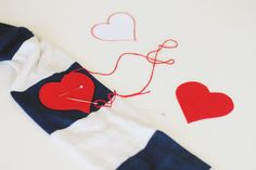 Revamp your V-day Wardrobe- Easy DIY's for Valentines Day